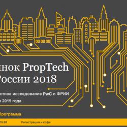 Конференция Рынок PropTech в России