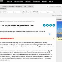Интервью Дениса Иванова для Офисвмоскве.Ру